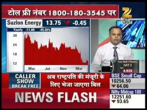 Expert advice on Suzlon Energy shares : Hotstock
