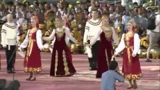 Выступление Уральского хора на всемирном фестивале культур в Нью-Дели (Индия) 11 марта 2016 год