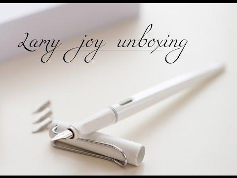 Lamy joy unboxing. Okeana`s 3rd video