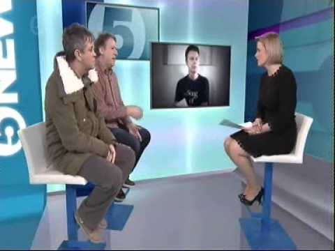 Pete Mitchell talking about David Bowie on Channel 5 News