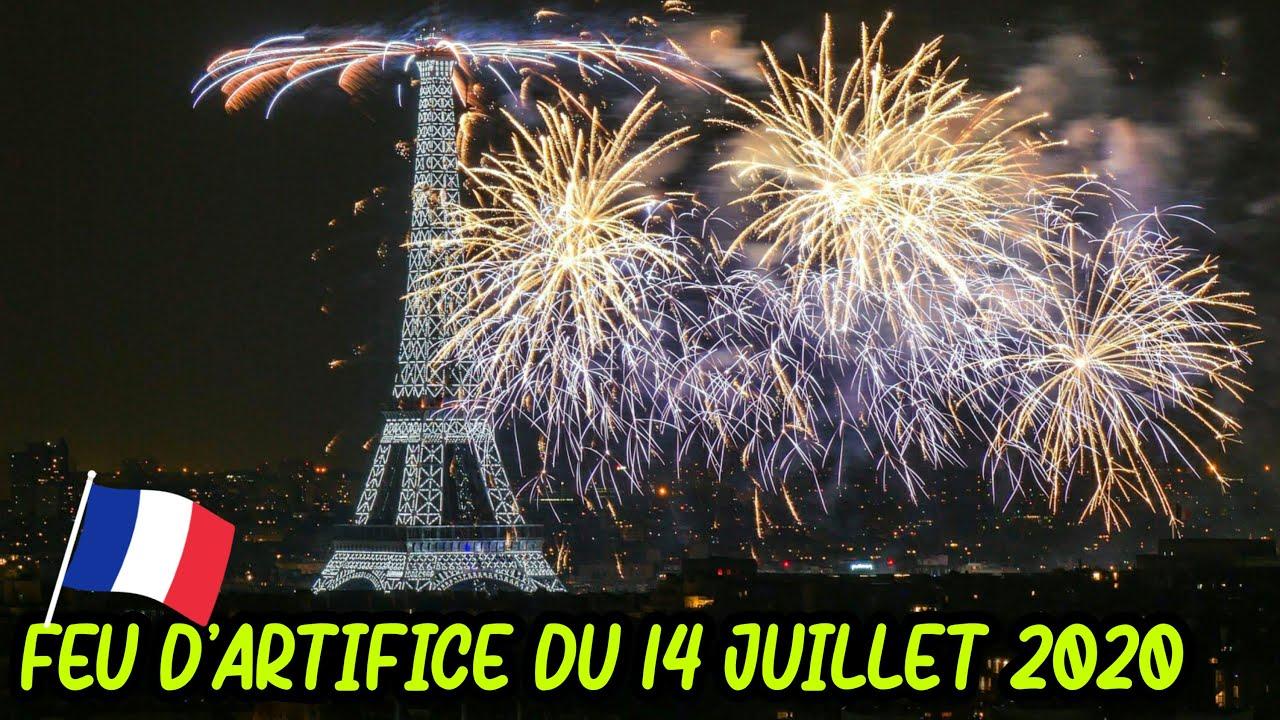 LIVE FEU D'ARTIFICE DU 14 JUILLET - Tour Eiffel Paris France