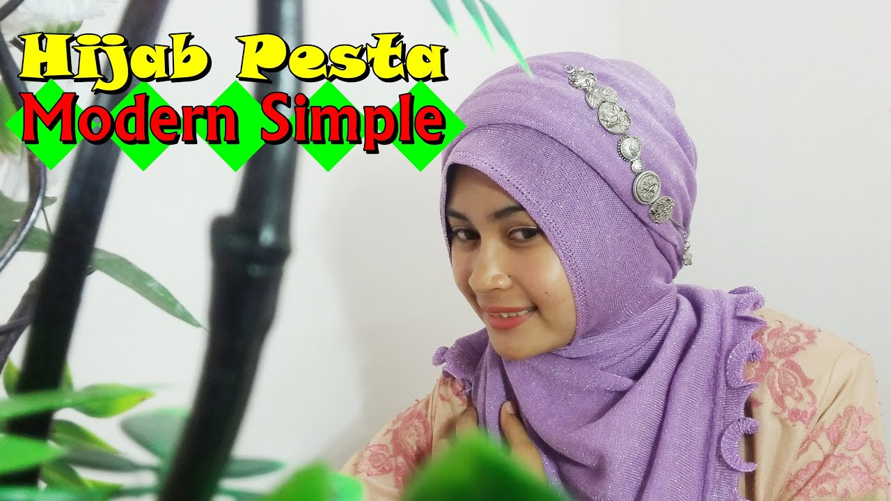 Tutorial Hijab Pesta Tutorial Hijab Pesta Pernikahan By Nica