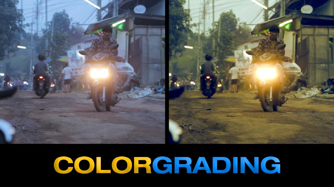 Free Color Grading Presets  YouTube