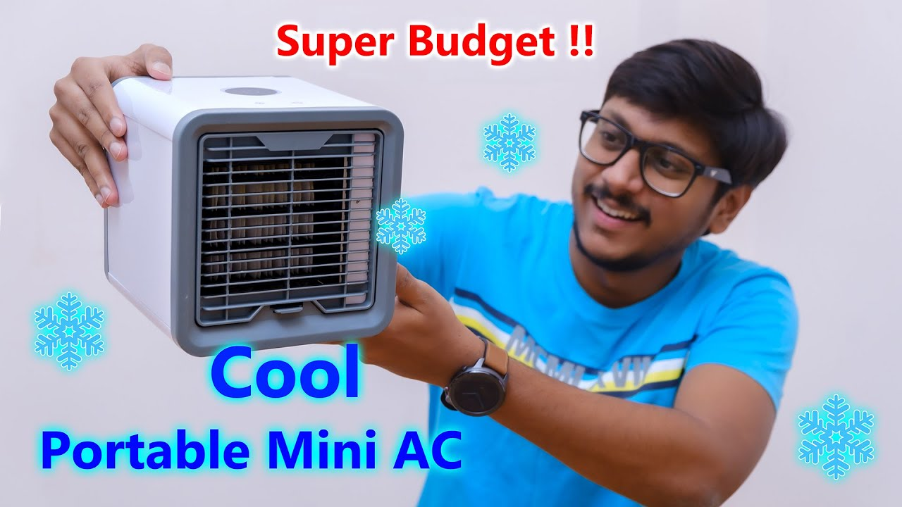 Smallest Portable AC Ever... � � - YouTube