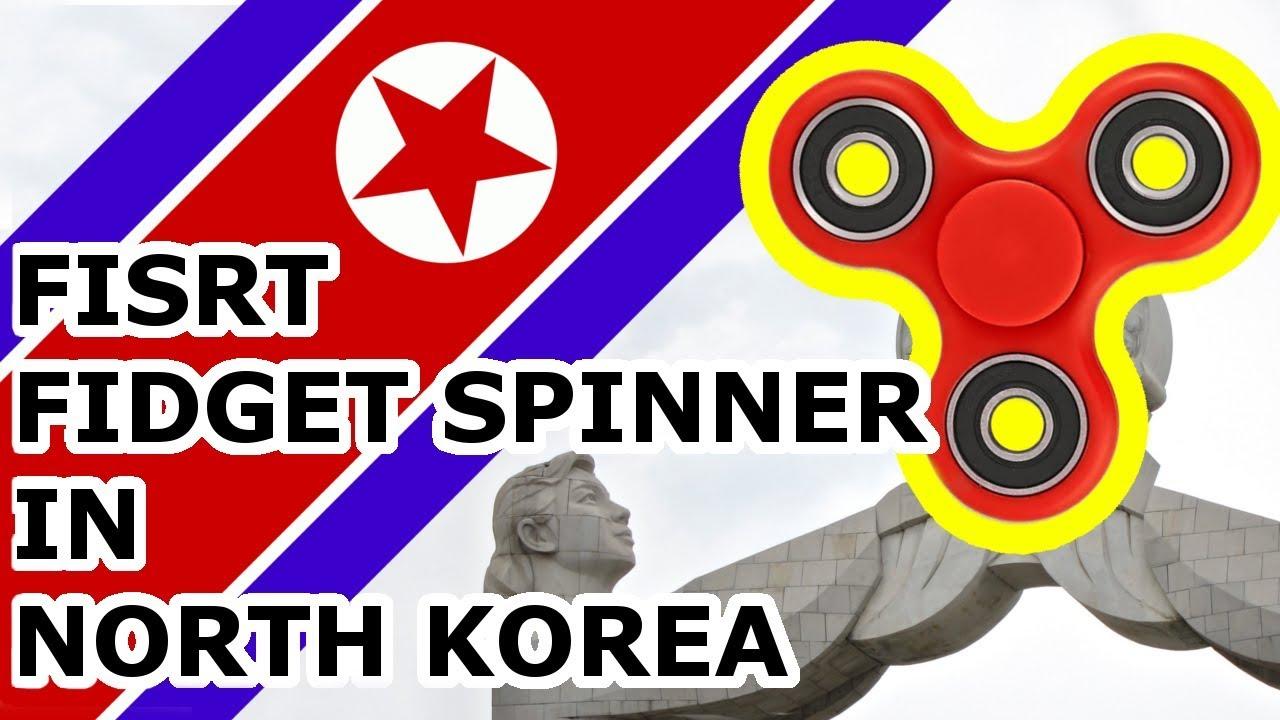 Jedyny FIDGET Spinner w KOREI PÓŁNOCNEJ