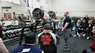 Full Squat 180kg(400lbs) x 42 Reps!!!