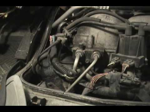 Chevy Astro CPI Fuel Injector Install Part 1 - YouTube