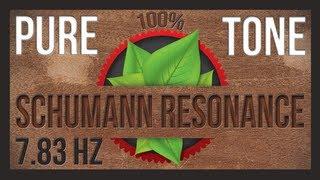 7.83 Hz PURE TONE - Schumann Resonance Brain Tuner - HD - ASMR