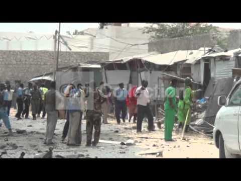 SOMALIA CAR BOMB AFTERMATH