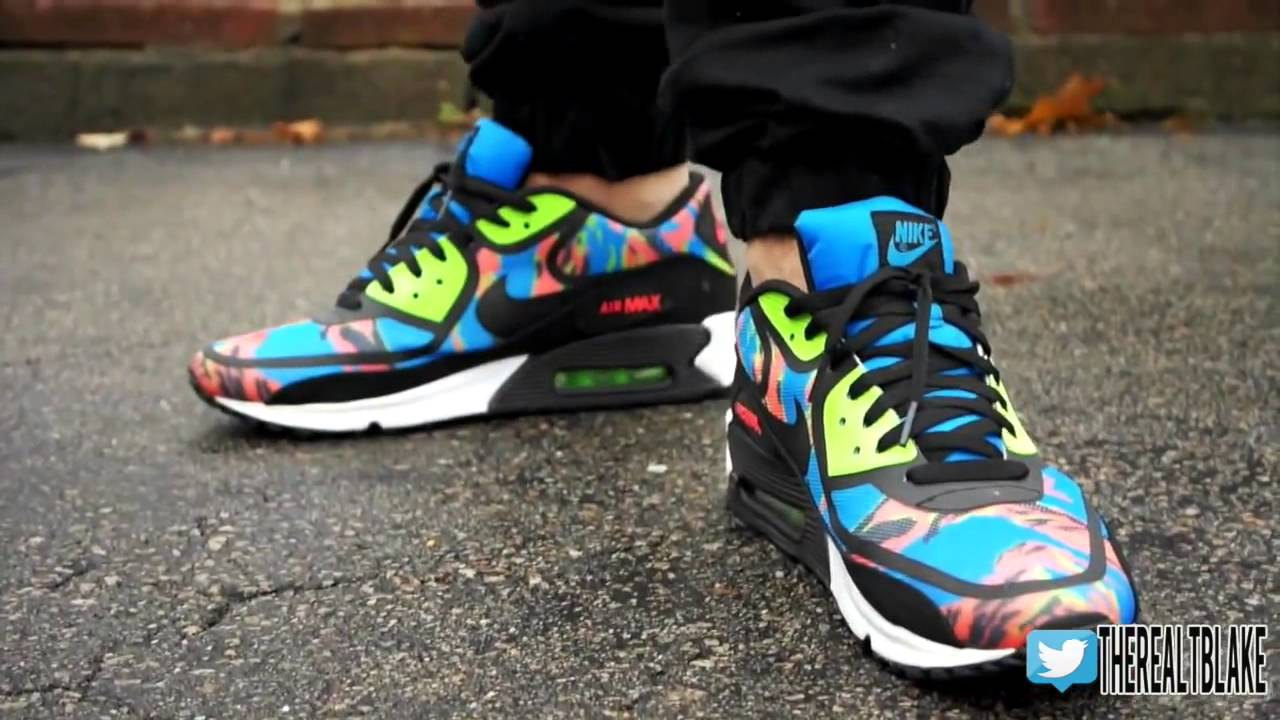 nike air max 90 tape color camo cargo