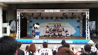 千葉ロッテマリーンズのチアリーダー M☆Splash!! がエイジアエンジニア...