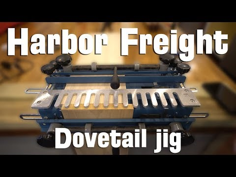 Harbor Freight Dovetail Jig Setup and Review