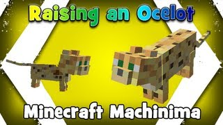 Raising An Ocelot (Minecraft Machinima)