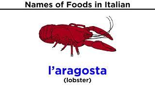 Italian Vocabulary: Food
