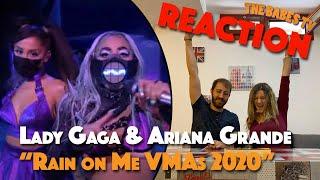 Lady gaga & ariana grande - rain on me live at the vmas 2020 reaction!!!