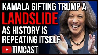 Democrats Picking Kamala Harris Gifted A Trump Landslide, This Is Reagan's Landslide All Over Again