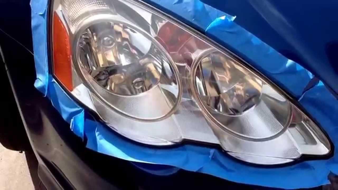 Acura RSX Type S Fix Cloudy Headlights Saturday Projects - 2002 acura rsx type s headlights