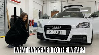 First Modifications On The Audi TT