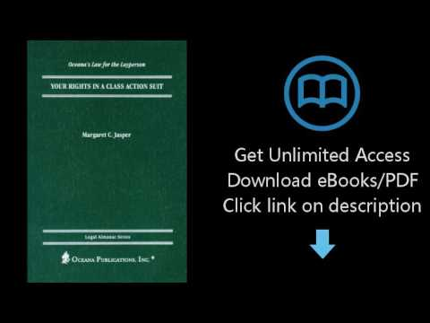 Your Rights in a Class Action Suit (Legal Almanac Series)