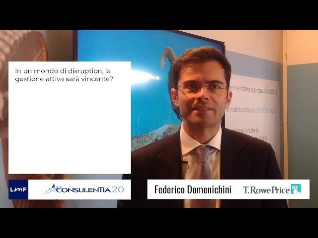 Consulentia 2020 - Federico Domenichini (T.Rowe Price)