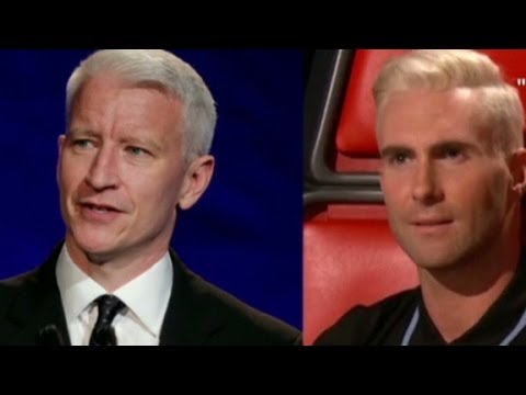 See if you can tell Adam Levine and Anderson Cooper apart