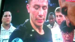 Геннадий Головкин нокаутировал Доминика Уэйда во втором раунде!