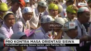 Mendikbud Larang Siswa Senior Jadi Panitia MOS