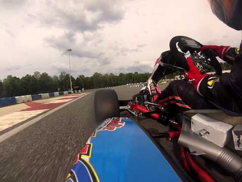 Onboard for Caleb G Racer's First Mini Swift Race