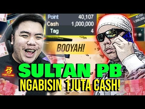 SULTAN ABISIN 1JUTA CASH PB TOTAL 10JUTA RUPIAH!! - POINT BLANK INDONESIA #1
