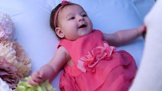 صار عمرها ٣ شهور 👧🏻...  عطيناها ابرة السفر😭 (مؤثر)