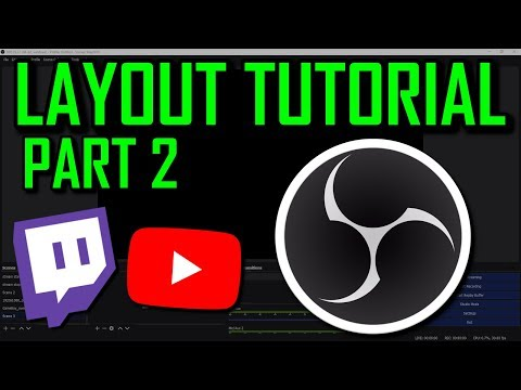 OBS TUTORIAL - How to make an overlay/layout for Twitch/Youtube - free! - Part 2 thumbnail
