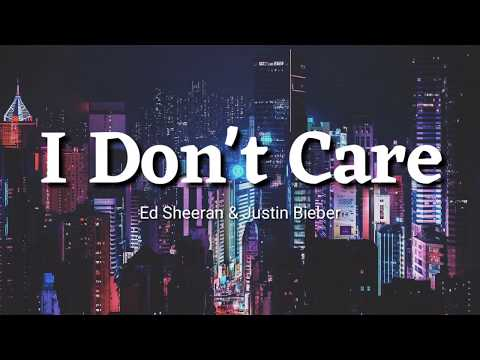 Ed Sheeran & Justin Bieber - I Don't Care Lyrics | Terjemahan Indonesia