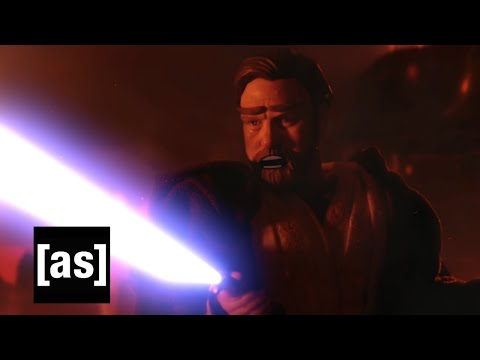 Obi Wan Takes The High Ground | Robot Chicken | Adult Swim