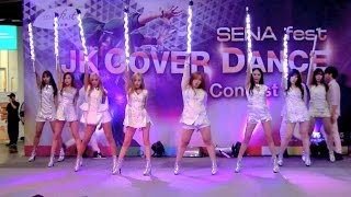 150719 Melody cover SNSD - Karma Butterfly + T.O.P + The Boys @SENA fest Cover Dance 2015