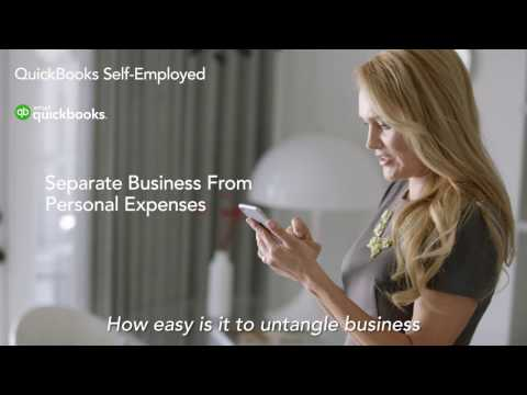 QuickBooks Self Employed: Untangle Business from Personal Expenses with One Swipe!