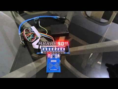 Arduino - NFC Stopwatch Counter for exercises in swimming pool