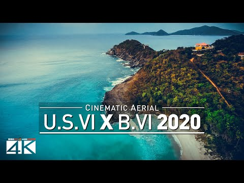 【4K】Drone Footage | The Virgin Islands | British vs. USVI | CARIBBEAN 2019 .:: Cinematic Aerial Film