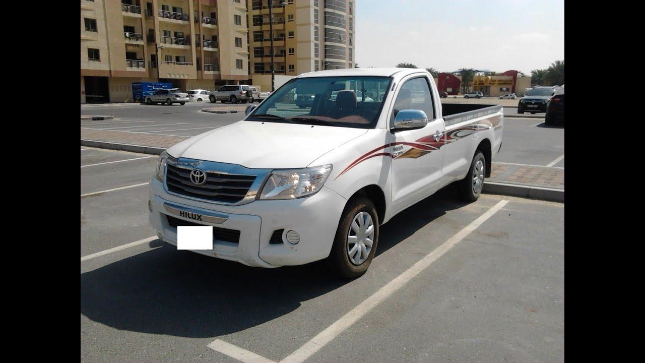Toyota Hilux Single Cabin 4x2 2700cc Petrol Year 2013 Low