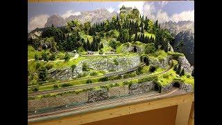 Modelleisenbahn Spur TT - Entstehung einer Großanlage