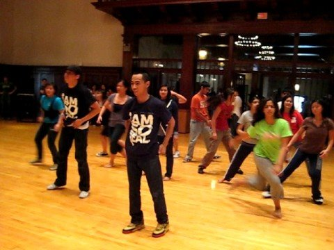 SoReal's Dance Clinic 1st group