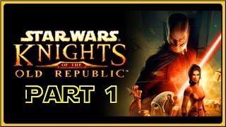 Star Wars Knights of the Old Republic Funny Moments Gameplay Pc (Part 1) (SW KOTOR)