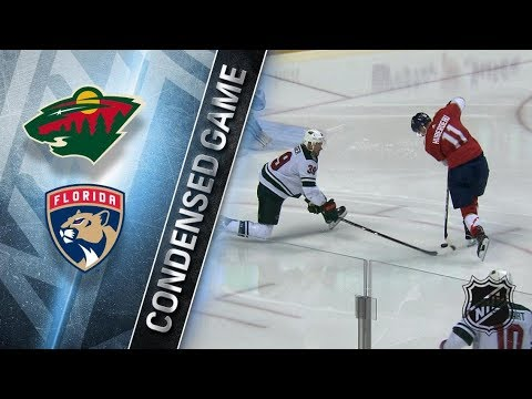 Minnesota Wild vs Florida Panthers – Dec. 22, 2017 | Game Highlights | NHL 2017/18. Обзор матча