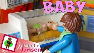 """Playmobil Film deutsch """"Hurra, das Baby ist da"""" Familie Jansen / Kinderfilm / Kinderserie"""