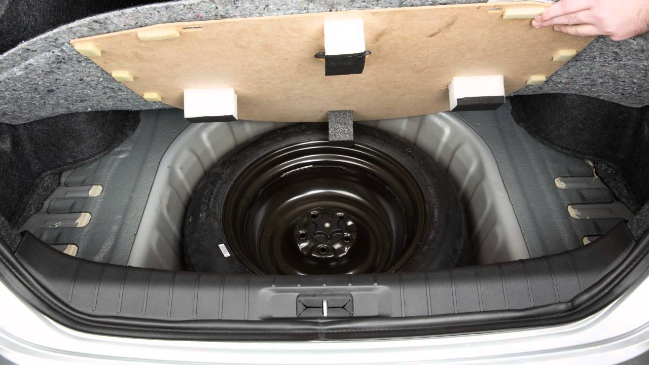 2016 Nissan Maxima - Spare Tire and Tools - YouTube