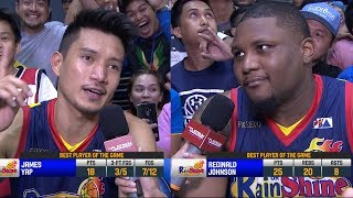 Best Players: James Yap and Reggie Johnson | PBA Commissioner's Cup 2018