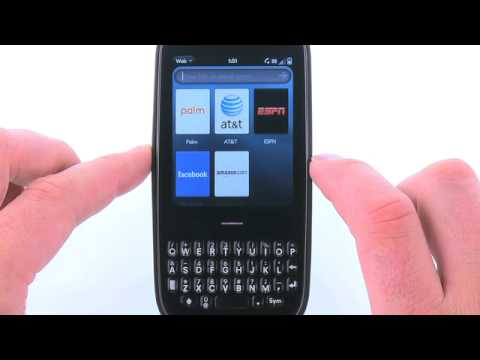 Access the Browser Settings for the Palm Pixi Plus: AT&T How to Video Series