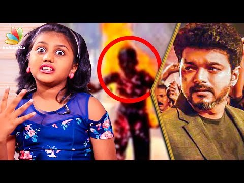 Vijay Cried During the Collector Office Scene : Sarkar Kid Meenu Interview | Making