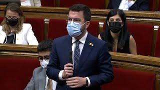 """Aragonès: """"Los desastres naturales no entienden de fronteras"""""""