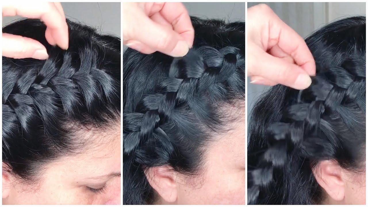 3 BASIC BRAIDS FOR BEGINNERS   3 kiểu thắt bím đơn giản   Khái quát những thông tin liên quan những kiểu tóc thắt đẹp mới cập nhật