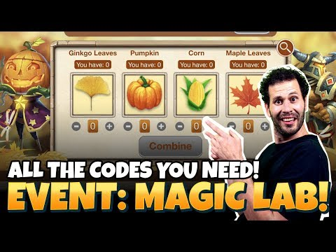 Magic Lab: CODES YOU NEED! Castle Clash